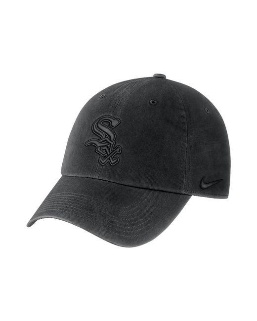 47b41c2897e Lyst - Nike Heritage 86 (mlb White Sox) Adjustable Hat (black) in ...