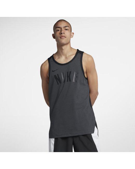 702369113491f Nike - Black Dri-fit Hyper Elite Men s Sleeveless Basketball Top for Men -  Lyst