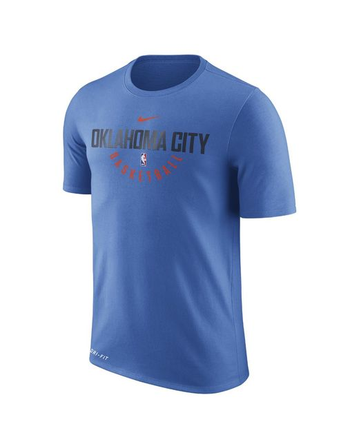 Nike | Blue Oklahoma City Thunder Dry Men's Nba T-shirt for Men | Lyst