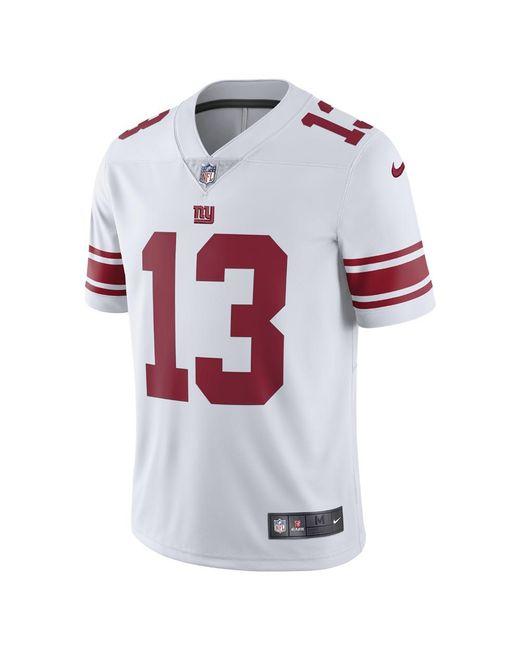 22b5200b9 Nike - White Nfl New York Giants Limited (odell Beckham Jr.) Men s Football