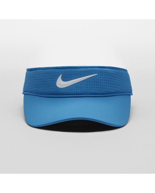 9a92f6f52f3 Lyst - Nike Aerobill Women s Golf Visor (blue) - Clearance Sale in Blue