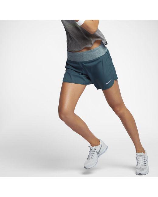 "Nike | Blue Flex Women's 5"" Running Shorts | Lyst"