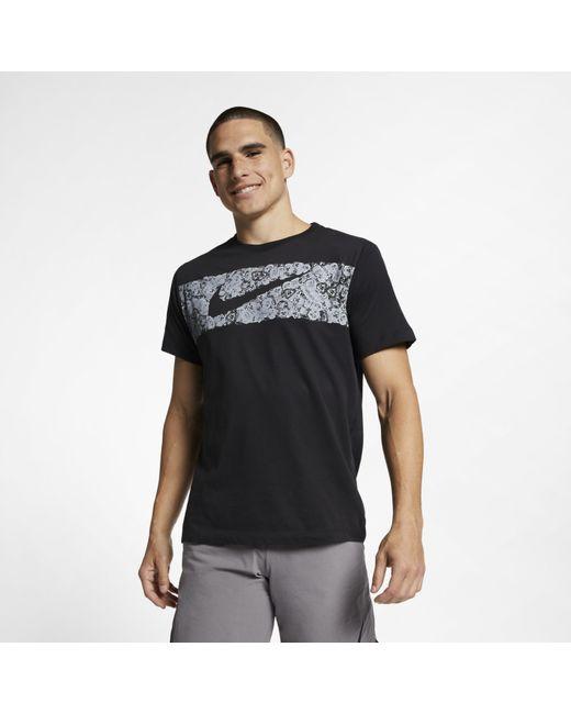 909c1977b Nike - Black Dri-fit Training T-shirt for Men - Lyst ...