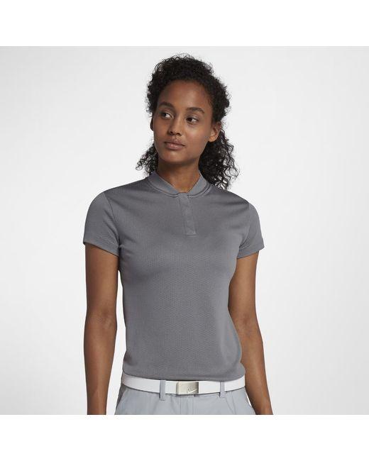 b3f20a45 Lyst - Nike Dri-fit Women's Golf Polo Shirt in Gray