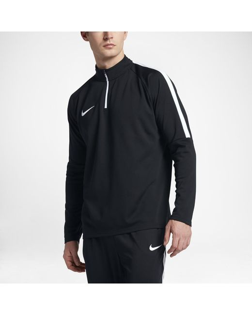 Nike - Black Dry Academy Men's 1/4 Zip Soccer Drill Top for Men - Lyst