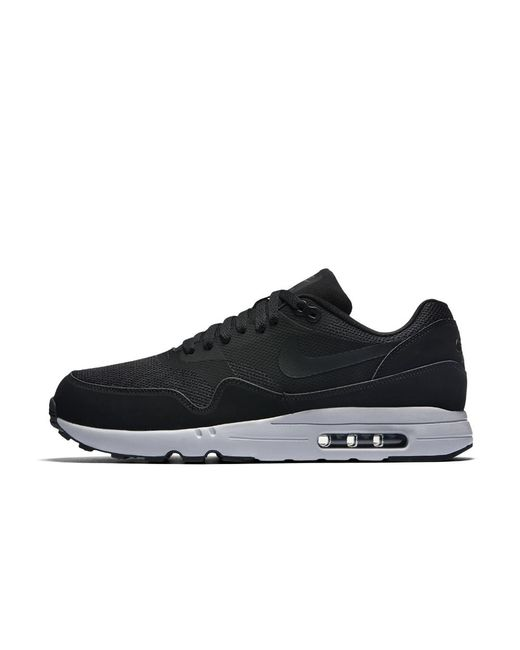 gray 'air max 1 ultra essential' sneakers