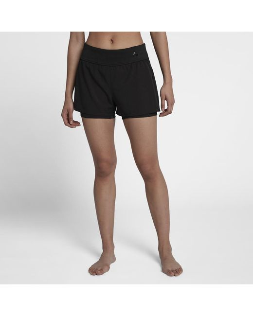 Lyst - Nike Tr2.5 Shift Women s Swim Bottoms in Black ba6a6b8c6