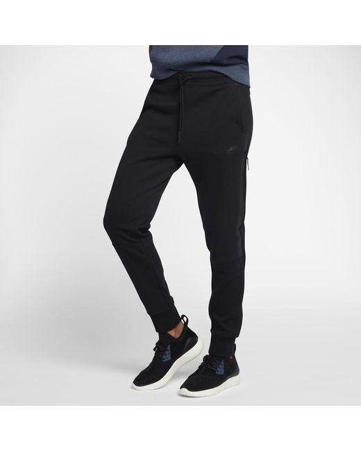 Lyst - Nike Tech Fleece Women s Pants in Black fd260edc9b