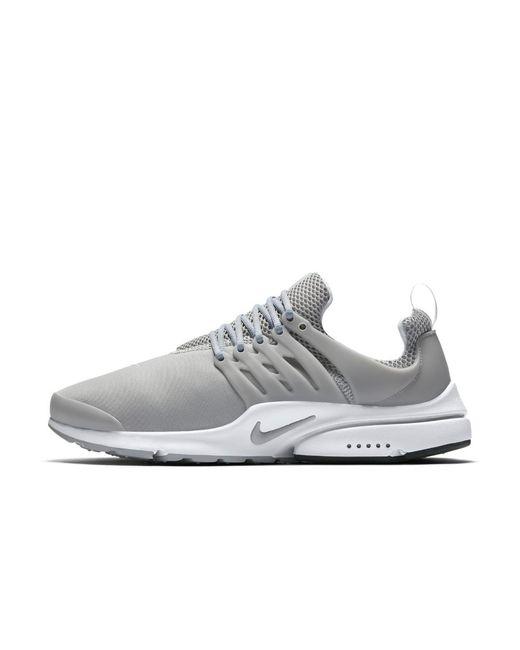 0b359e6e6 Lyst - Nike Air Presto Essential Men s Shoe in White for Men