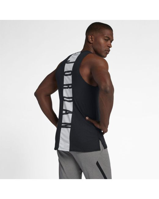 75741682 Nike - Black Jordan 23 Alpha Sleeveless Training Top for Men - Lyst ...