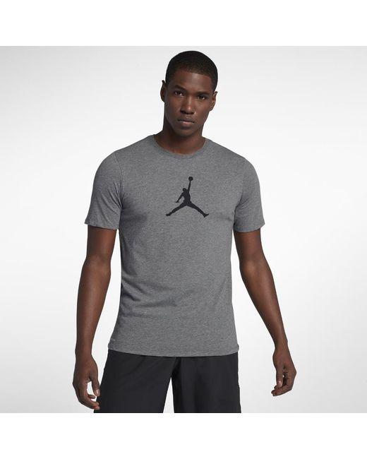 1a9feb16 Lyst - Nike Dri-fit Jmtc 23/7 Jumpman Men's T-shirt, By Nike in Gray ...