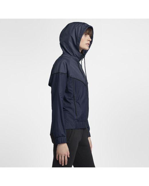 d6691a75c In In Women's Lyst Sportswear Jacket Nike Windrunner Blue Blue Blue PXxqztg