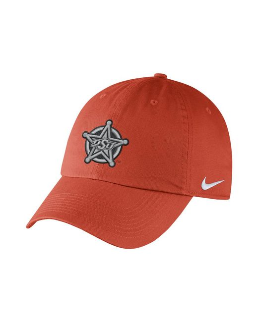 Nike | College Dry H86 (oklahoma State) Adjustable Hat (orange) for Men | Lyst