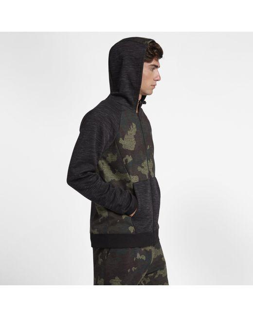 e7799a8c641e1c ... Nike - Green Hurley Phantom Fleece Full-zip Hoodie for Men - Lyst ...