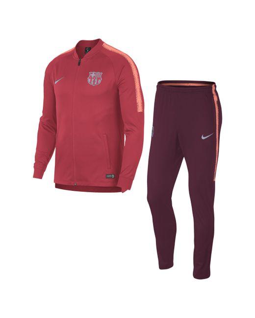 Nike - Pink FC Barcelona Dri-FIT Squad Fußball-Trainingsanzug für Herren for Men - Lyst