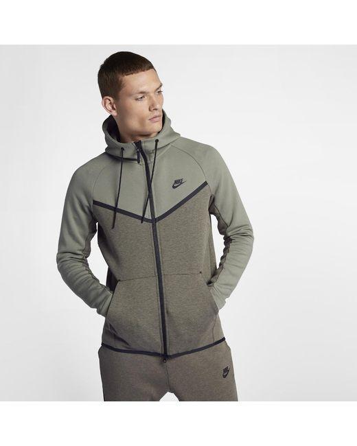 6cc98f2e5f38 Nike - Multicolor Sportswear Tech Fleece Windrunner Men s Full-zip Hoodie  for Men - Lyst