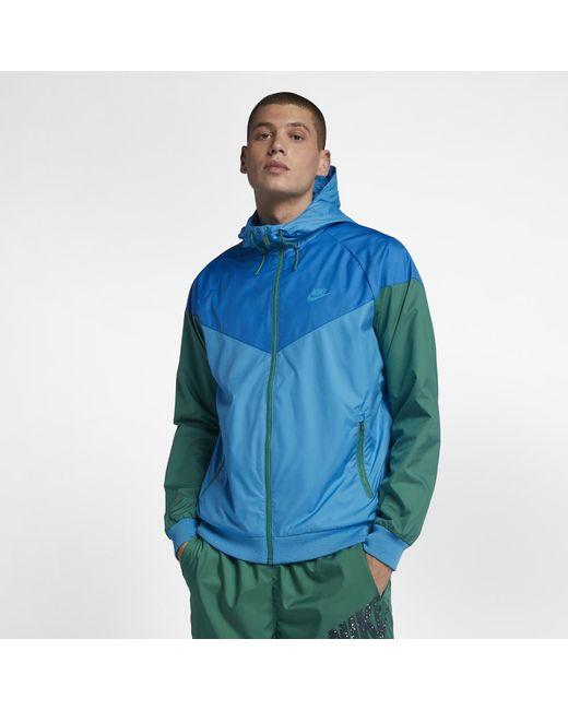00f0ef9c74 Lyst - Nike Sportswear Windrunner Men s Jacket in Blue for Men