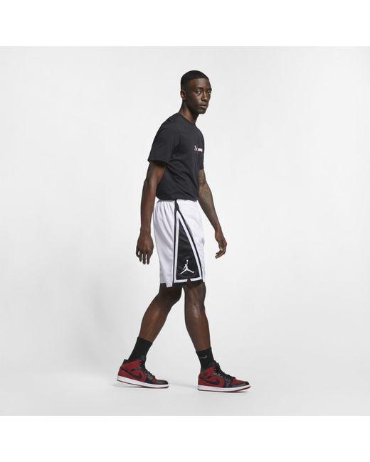 947cfce12d8 ... Nike - White Jordan Franchise Basketball Shorts for Men - Lyst