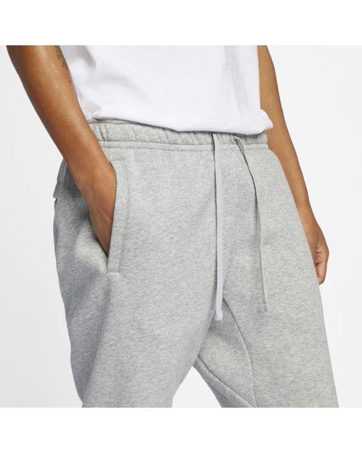 4582354805f6 ... Nike - Gray Sportswear Jdi Fleece Joggers for Men - Lyst ...