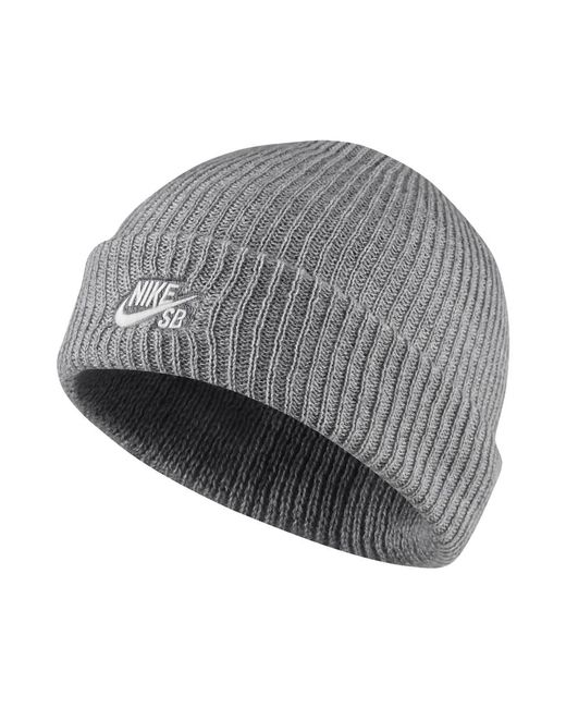 huge selection of 13c53 21308 Nike - Gray Sb Fisherman Knit Hat (grey) for Men - Lyst