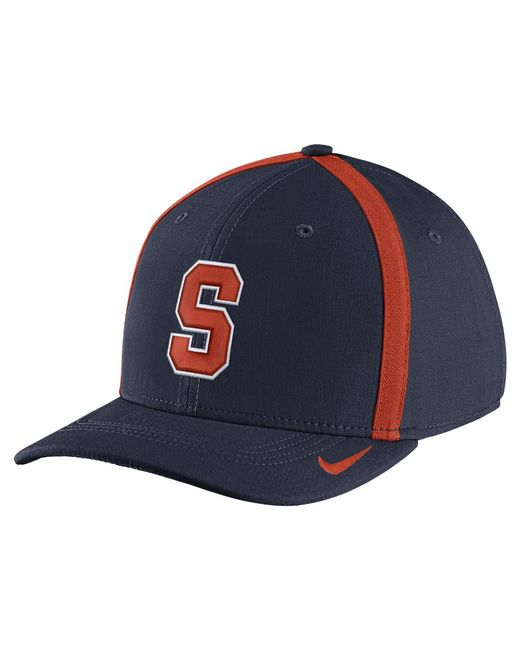 Nike - Blue College Aerobill Swoosh Flex (syracuse) Fitted Hat for Men - Lyst