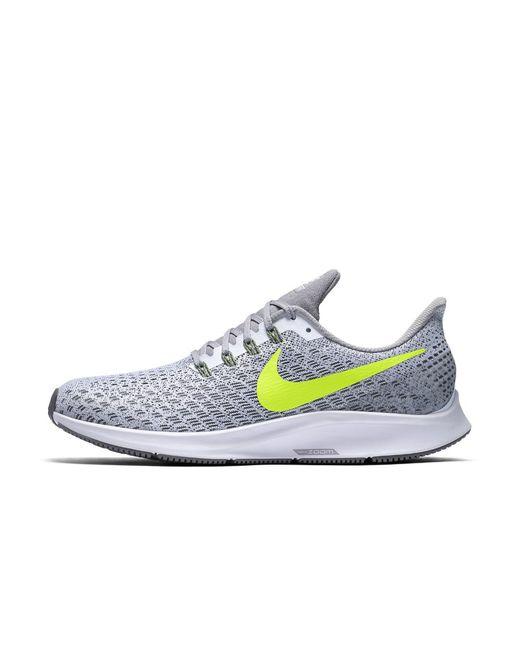 049ff95b473b2 Lyst - Nike Air Zoom Pegasus 35 Men s Running Shoe in Gray for Men