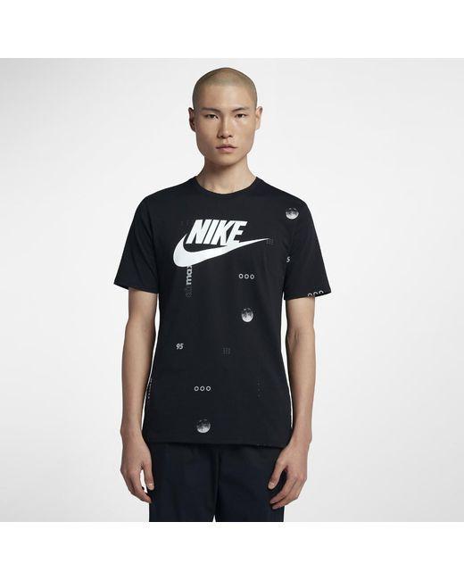 9933a6de Lyst - Nike Sportswear Air Max Men's T-shirt in Black for Men