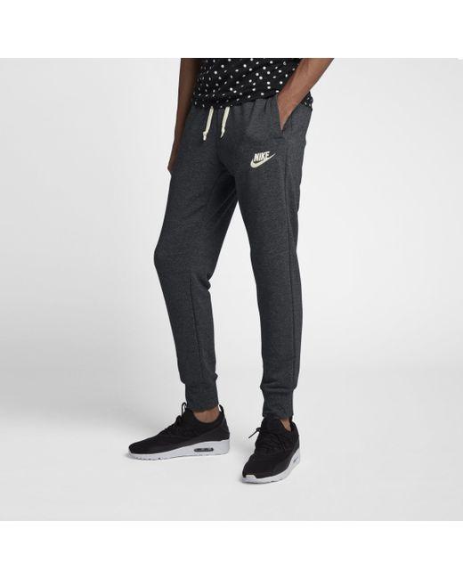 fafb1463e582f Nike Sportswear Heritage Joggers in Black for Men - Lyst