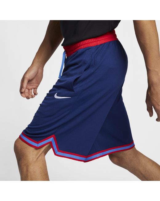 ab7f909b0e5 Nike Dri-fit Dna Basketball Shorts in Blue for Men - Lyst