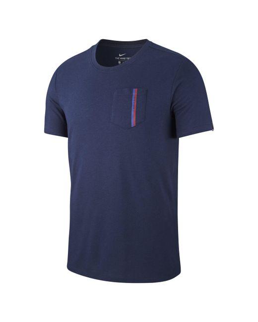 f959c06c3 Nike Fc Barcelona T-shirt in Blue for Men - Lyst