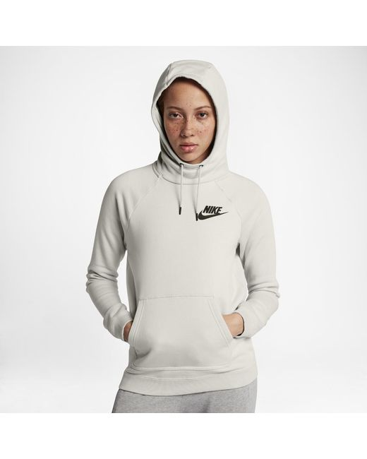 516b622ae55b Nike - Multicolor Sportswear Rally Women s Fleece Hoodie - Lyst