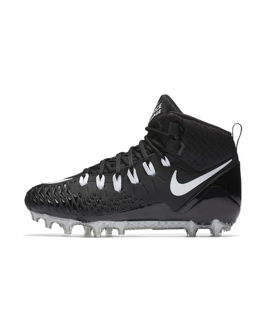 Nike Force Savage Pro Men's Football Cleat in Black for ...