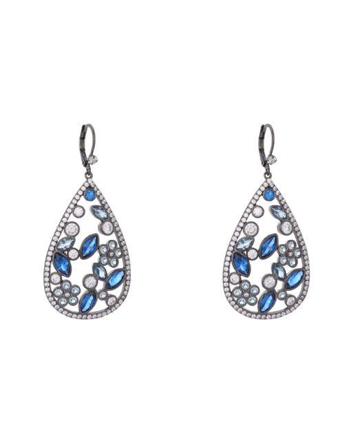 Nina - Blue Matalin Earring-sapphire Ombre - Lyst