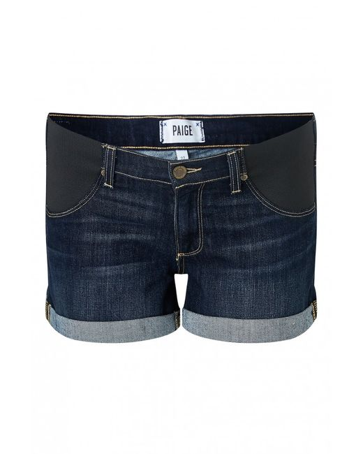 PAIGE | Blue Jimmy Denim Shorts | Lyst