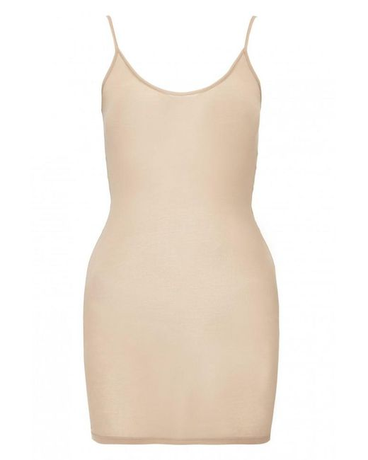 American Vintage - Natural Round Neck Tank Dress - Lyst