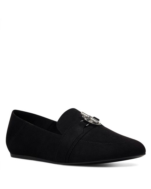 Nine West - Black Behere Loafers - Lyst