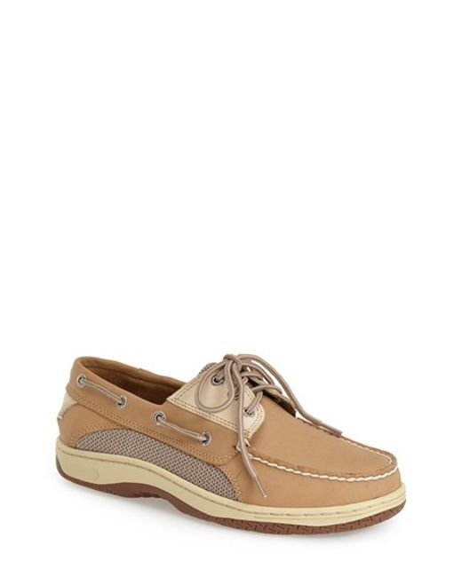 Sperry Top-Sider | Brown 'billfish' Boat Shoe for Men | Lyst