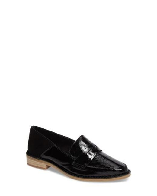 Kelsi Dagger Brooklyn | Black Woodside Drop Heel Loafer | Lyst