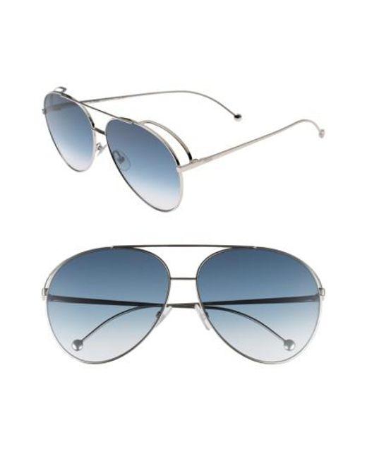 aviator sunglasses - Blue Fendi ipQk0O6T0P