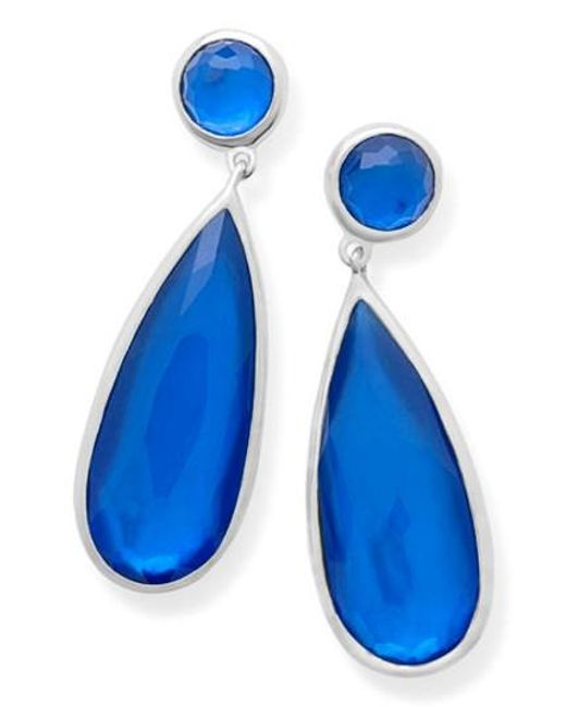Ippolita | Blue Wonderland Teardrop Earrings | Lyst