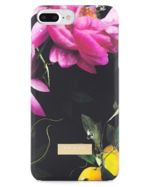 Ted Baker - Black Citrus Bloom Iphone 7 Case - Lyst