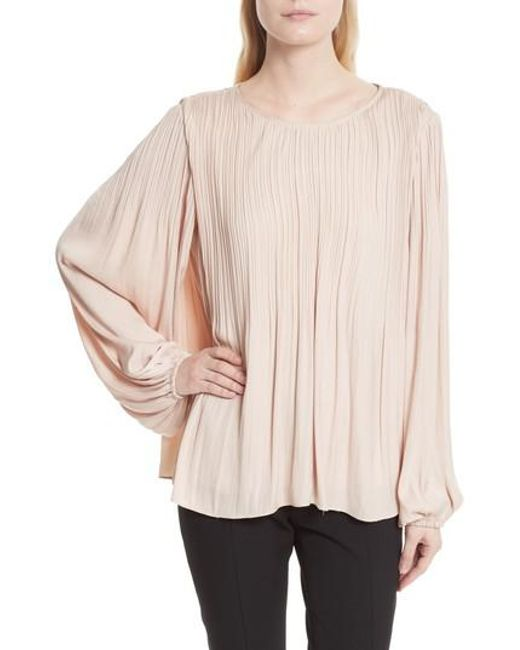 Elizabeth and James   Multicolor Grove Pleated Blouse   Lyst