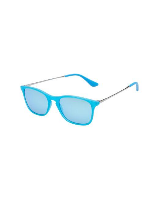 Ray-Ban - Blue Chris Junior 49mm Mirrored Wayfarer Sunglasses - for Men - Lyst