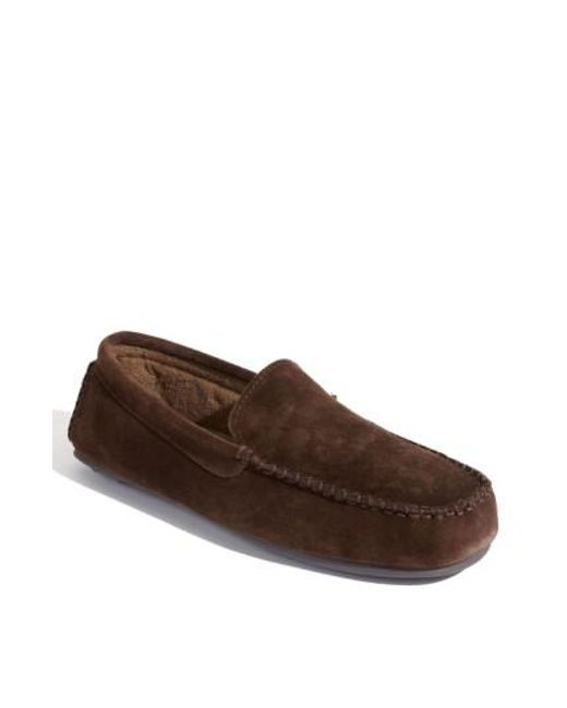 L.B. Evans | Brown 'darren' Slipper for Men | Lyst