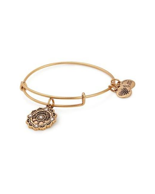 ALEX AND ANI - Metallic Mother Of The Groom Charm Bangle - Lyst
