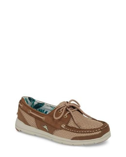 Tommy Bahama Mesh Contrast Boat Shoe dnTmP