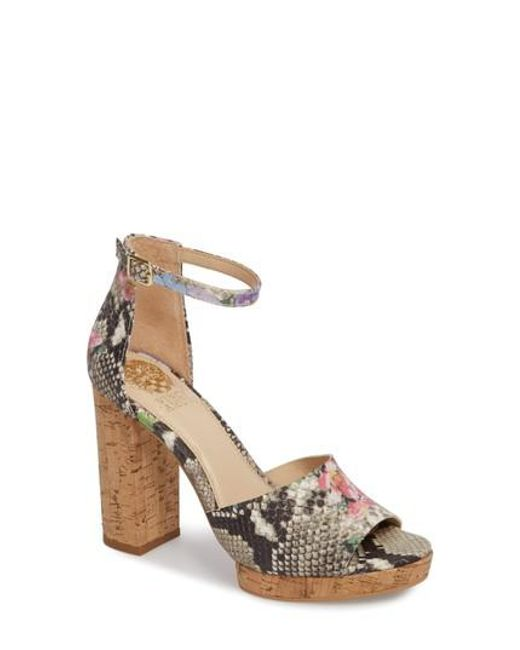 Vince Camuto - Multicolor Ciestie Platform Sandal - Lyst