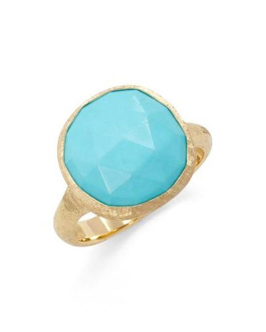 Marco Bicego - Blue Jaipur Stone Ring - Lyst