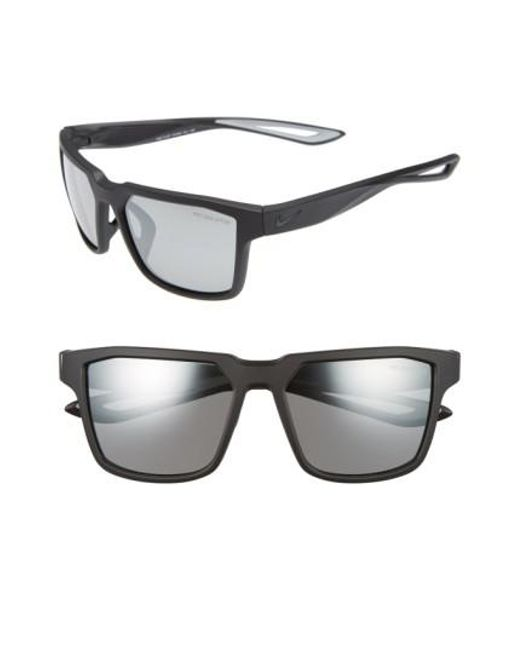 Nike   Black Fleet 55mm Sport Sunglasses   Lyst