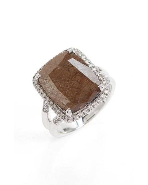John Hardy | Metallic Classic Chain Gemstone Ring | Lyst